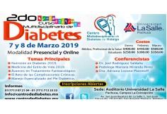 2do Curso Multidisciplinario de Diabetes de Pachuca, Hidalgo, 7 y 8 de Marzo 2018