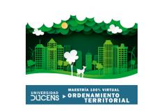 Maestría en Ordenamiento Territorial modalidad 100% Virtual.